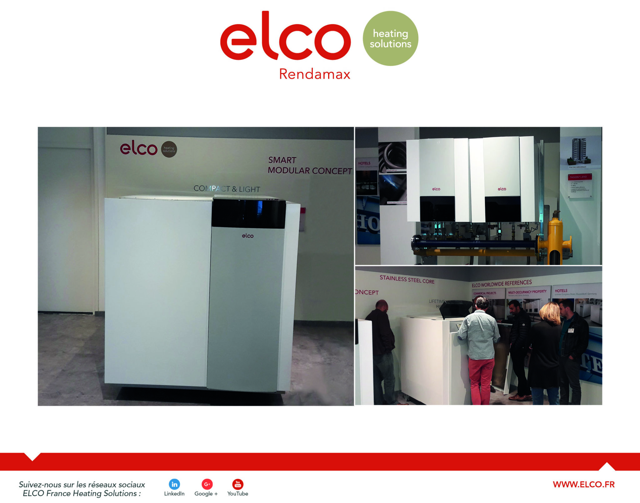 Visite de l'usine ELCO à Kerkrade