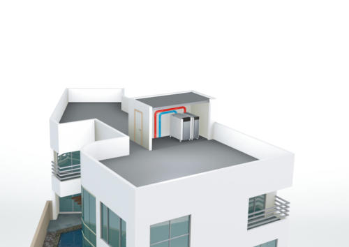 TRIGON XL  : Faible poids, accès difficiles-terrasse